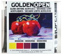 Load image into Gallery viewer, GOLDEN OPEN Acrylics Introductory Set Modern