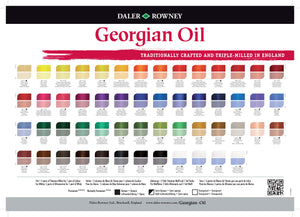 Daler Rowney Georgian Oil 75ml Tubes