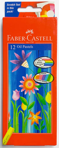 Faber-Castell Oil Pastels Set of 12