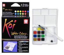 Load image into Gallery viewer, Koi Watercolours Half Pans