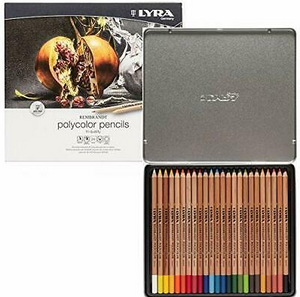Lyra Rembrandt Polycolour Metal Box