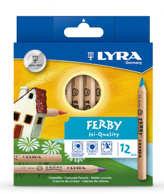 LYRA Super FERBY Lacquered Pencils 12pcs
