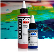 Load image into Gallery viewer, GOLDEN High Flow Acrylics 30ml