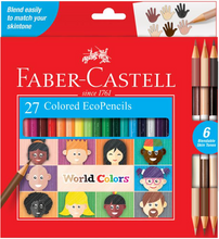 Load image into Gallery viewer, Faber-Castell 15 Colored EcoPencils World Colors
