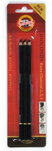 Koh-I-Noor Gioconda Extra Charcoal 3 Set (2,3,4)