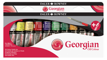 Load image into Gallery viewer, Daler-Rowney Georgian Oil Colour Sets - 22ml Tubes