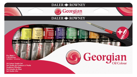 Daler-Rowney Georgian Oil Colour Set - 22ml Tubes