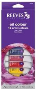 Reeves Oil Colour Set of 12