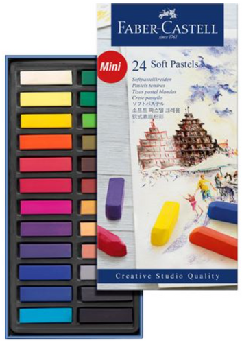 Faber-Castell Soft Pastels Set of 24