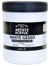 Load image into Gallery viewer, Winsor & Newton Acrylic Clear Gesso
