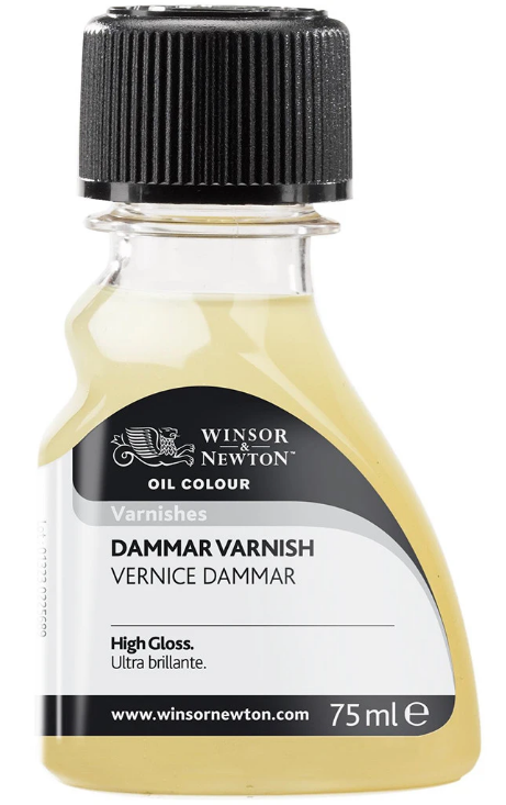 Winsor & Newton Oil Medium Dammar Varnish 75ml