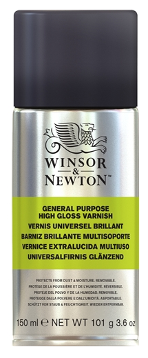 Winsor & Newton All Purpose High Gloss Varnish Spray 150ml