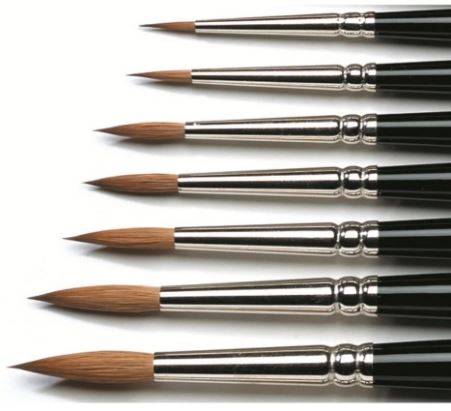 Winsor & Newton Kolinsky Watercolour Brush
