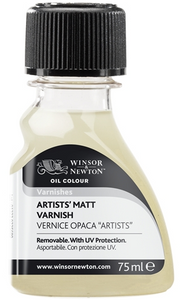 Winsor & Newton Artists Retouch Varnish 75ml