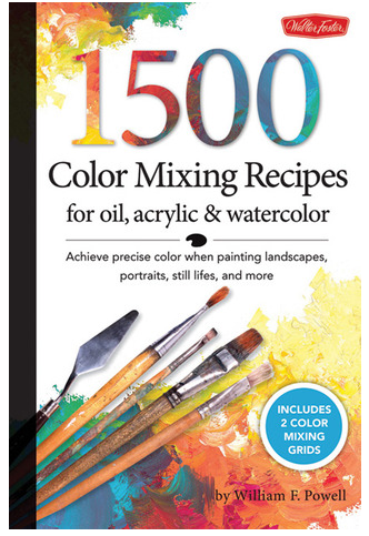 Walter Foster 1500 Colour Mixing Recipes