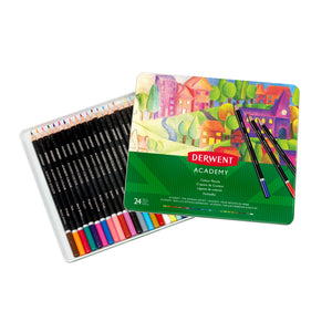 Derwent Academy Colour Pencils 24's