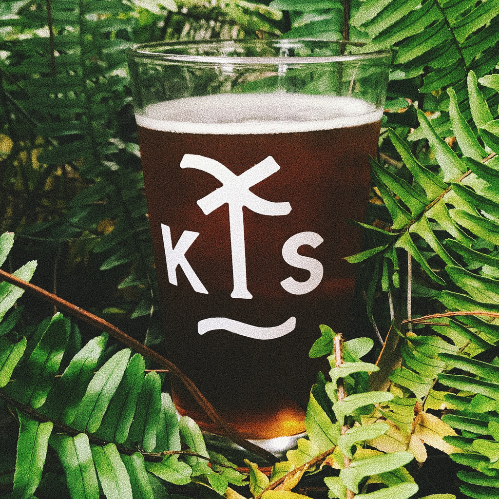 KING STATE 'KS' - Pint Glass