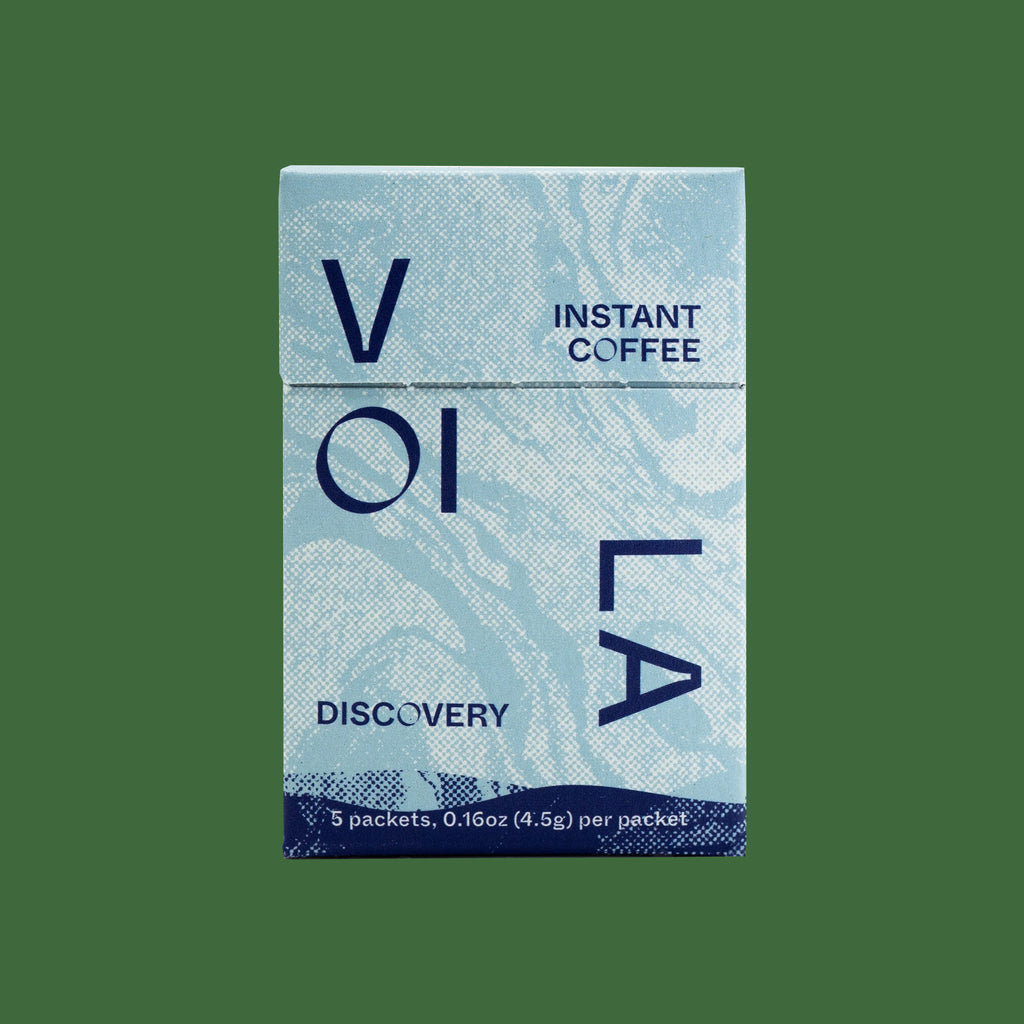 Voilà x King State Specialty Instant Coffee