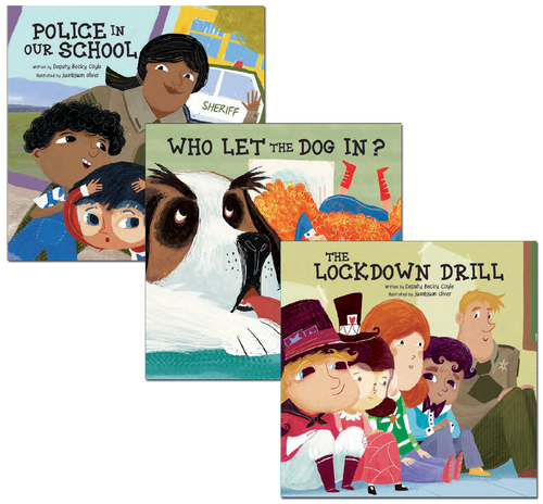 Police In School Series (4-books set)