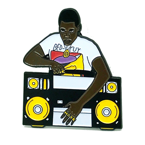 Radio Raheem Pin