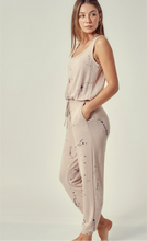 Taupe Round Neck Jumpsuit