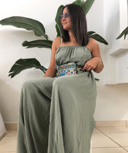 Olive Wide Leg Jumpsuit