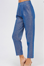 Royal Blue, Metallic Pants