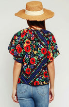 Gypsy Floral Blouse