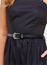 Black Maxi Dress w Belt