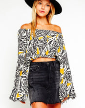 Safari Off Shoulder Blouse