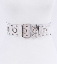 Cleared Metal Stud Belt (Gold & Silver)