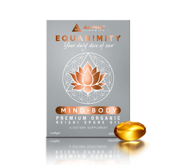 EQUANIMITY - Premium Organic Reishi Spore Oil (Single Pack) - Alpha Dynamics
