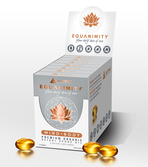 [Premium Adaptogen Mushroom Supplements] - Alpha Dynamics