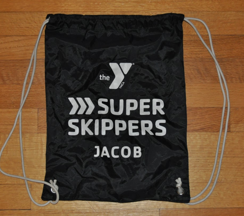 Super Skippers Drawstring Bag