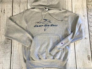 Camp Sea Gull Hooded Sweatshirt-Adult Vintage Logo