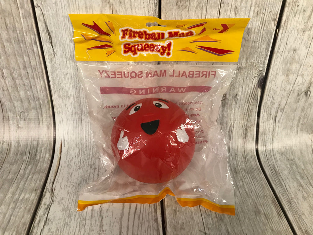 Fireball Man Squishy