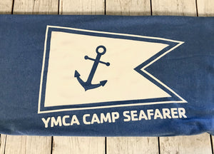 Camp Seafarer Sweatshirt Throw