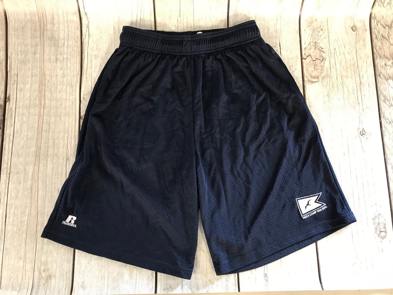 Camp Sea Gull Russel Athletics Mesh Shorts-Adult-Navy