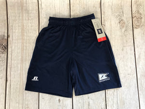 Camp Sea Gull Russel Athletic Nylon Shorts-Youth-Navy