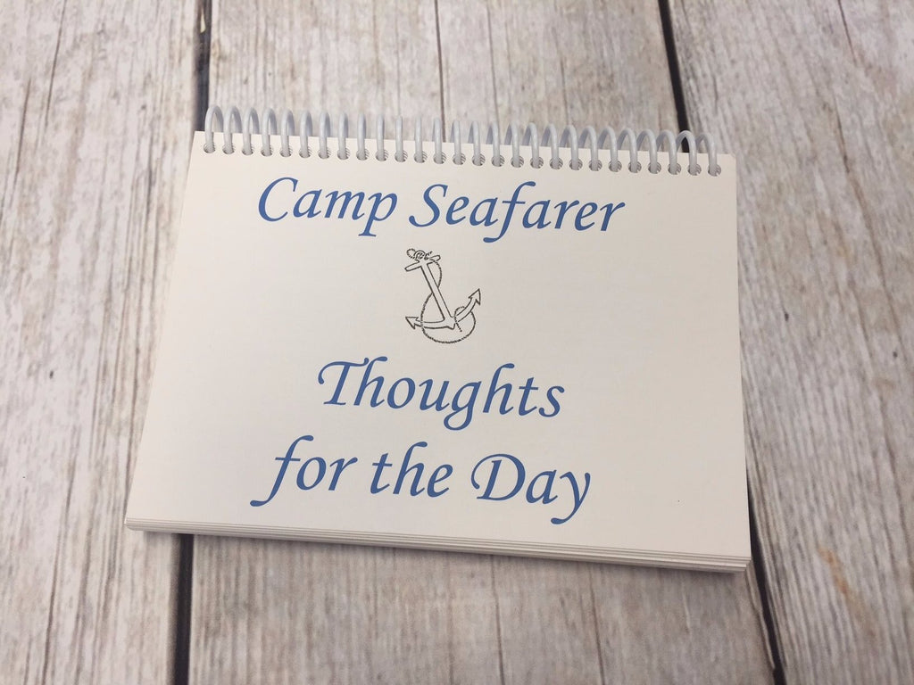 "Camp Seafarer ""Thoughts for the Day"" book"