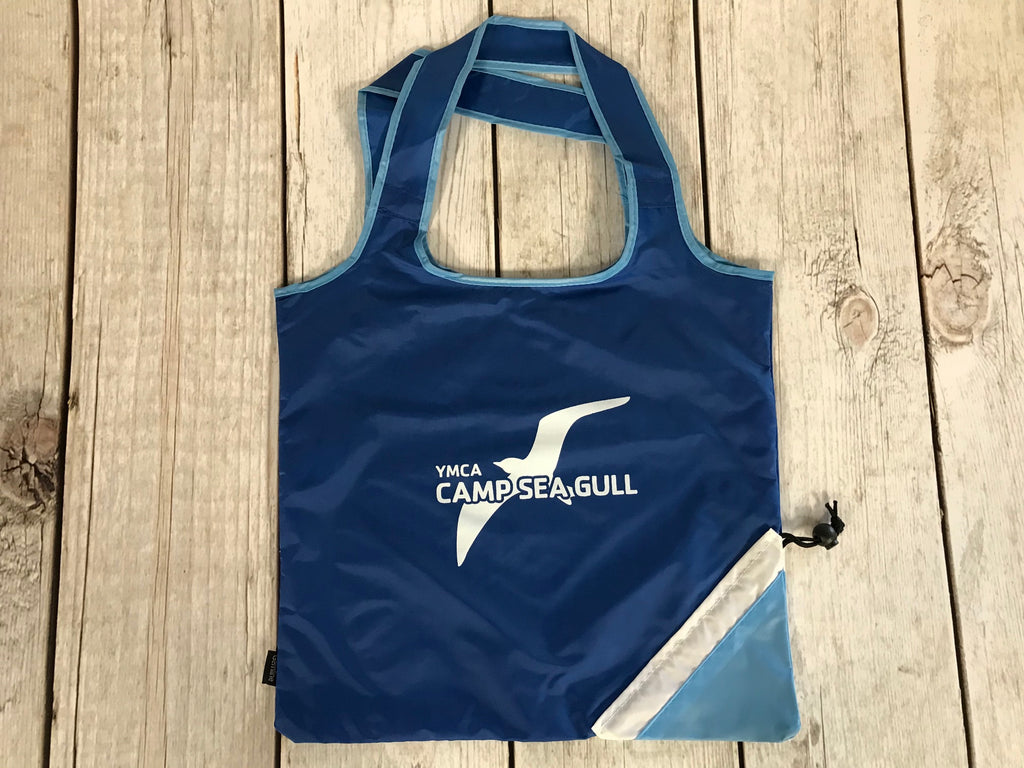 Camp Sea Gull Foldaway Tote