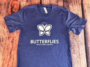 Camp Kanata Unit Tee-Butterflies
