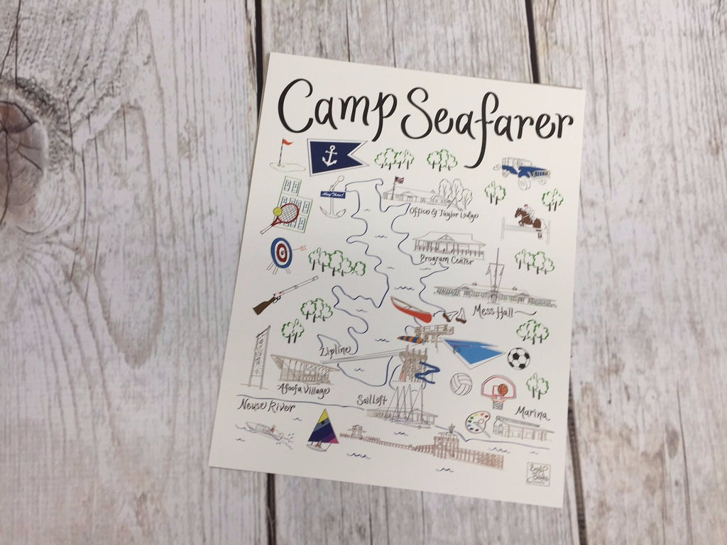 Camp Seafarer Map