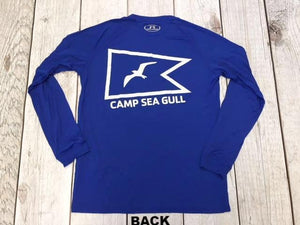 Camp Sea Gull Under Armour Long Sleeve-Adult-Royal