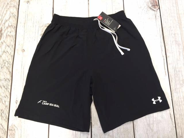 Camp Sea Gull Under Armour Soccer Shorts-Adult-Black