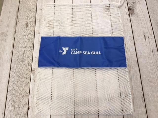 Camp Sea Gull Laundry Bag