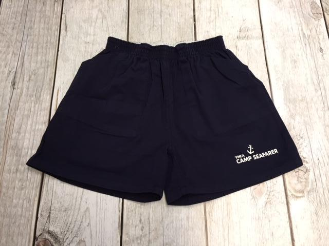 Camp Seafarer 100% Cotton Shorts-Youth Size