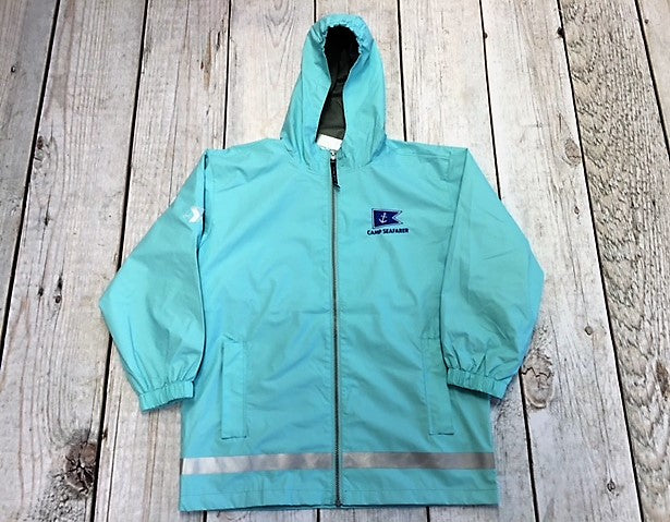 Camp Seafarer Rain Jacket-Youth Size