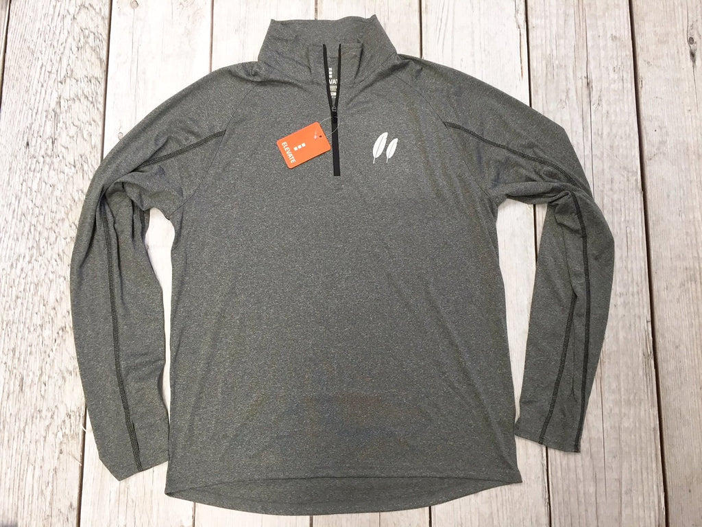 Y Guides Gray Performance Pullover-30% Off