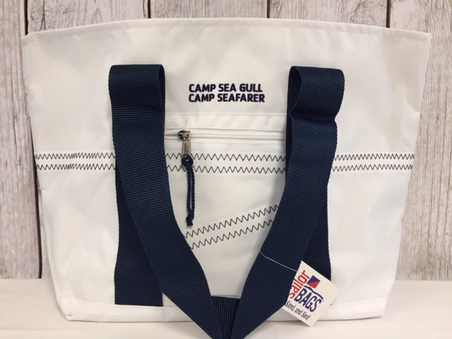 Camp Sea Gull/Camp Seafarer Sailor Newport Tote